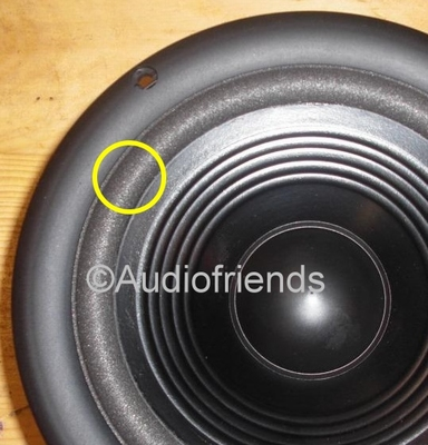 1 x Schaumstoff Sicke 6,5 Zoll Infinity Reference 81mk2