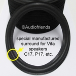 1 x Foam surround for Mission 761 woofer (6,5 inch)
