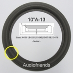 1 x Foamrand voor diverse 10 inch Boston speakers.
