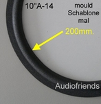1 x Foam surround for repair Onkyo D-66(B) - W-2558A
