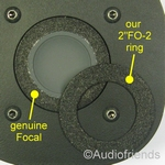 Repairkit foam Focal T120/T101/T121/TC90K/T100K/T92 tweeter