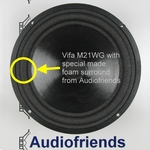 Repairkit foam surrounds for Vifa M21WG woofer  ±8 inch
