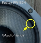 1 x Foam surround for repair ACR / Fostex FW180N &180