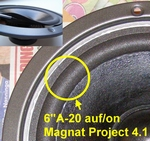 1 x Foam surround for Magnat Mirage 8 MKII