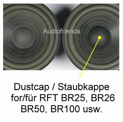 6 x Stofkap voor RFT BR25, BR26, BR50, BR100, 7102, etc.