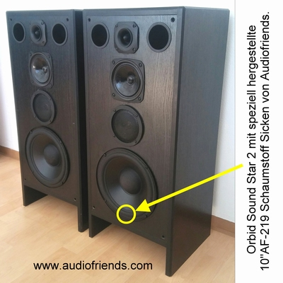 1 x Foamrand voor Orbid Sound Jupiter - Peerless
