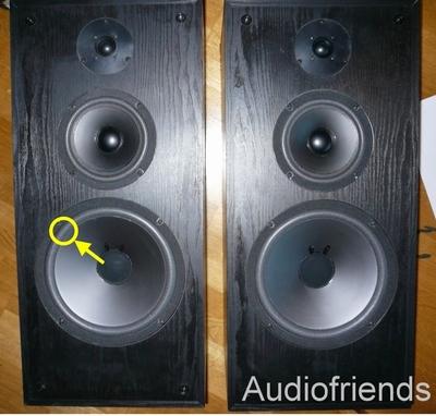 1 x Foamrand voor Acoustic Research 33BX, 44BX, 55BX