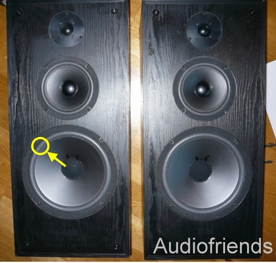 1 x Foam surround for Acoustic Research 48B, 48BXI, 48S