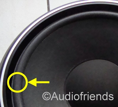 1 x Foam surround for repair Jamo W-300-1 and W-300-2