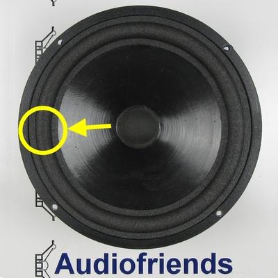 1 x Schaumstoff Sicke für Audiolab Largo - Vifa - Flexibel