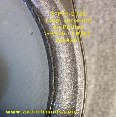 1 x Foamrand voor Philips FB830, FB860 reparatie