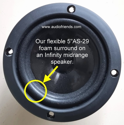 1 x Foam surround for Infinity Reference 6 - mid-high