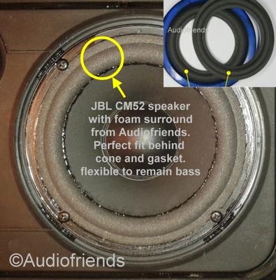 1 x Schaumstoff Sicke JBL CM52 / CM52+ / CM52AW / CM52V