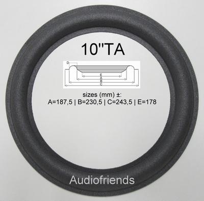 1 x Foam surround genuine Blaupunkt Artech L110 (Quadral)