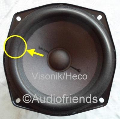 1 x Foamrand voor reparatie Heco/Visonik Convection 1