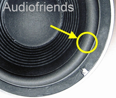 1 x Foam surround for repair JBL L50 - 127A, 127H