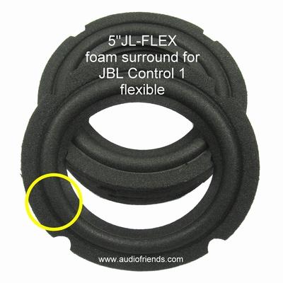 1 x Schaumstoff Sicke für JBL MR25, J520, J520M, P205G