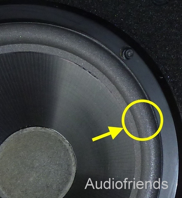 1 x Foam surround for repair Jamo CBR1303 speaker