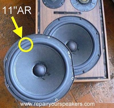 1 x Foamrand voor Acoustic Research 11/12 inch speaker