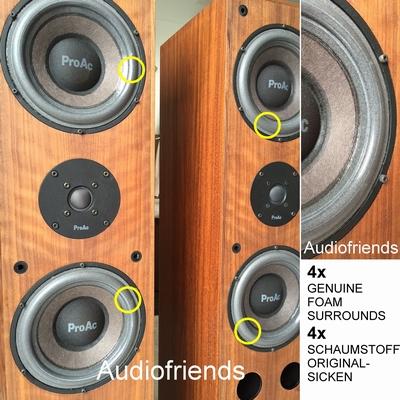 4 x 'GENUINE' foamrand voor ProAc Studio 200 speaker