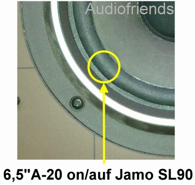 1 x Foamrand voor reparatie Jamo Graduate Special