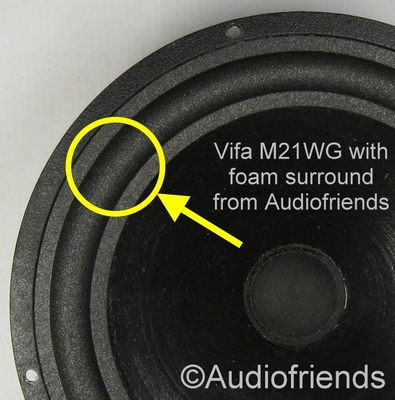 Vifa M21WG-09 - 1 x Foam surround for repair woofer