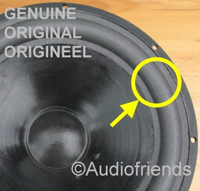 1 x Foamrand ORIGINEEL for reparatie I.Q 5180 speaker