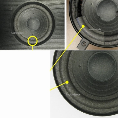 1 x Foam surround for Philips 22AV1993 Matchline midrange