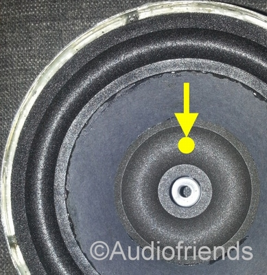 1 x Foam surround, 3 inch donut, for KEF RR103.4 - ACCURATE!