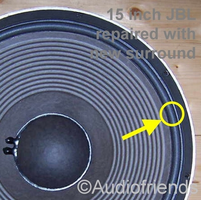 10 x Foam surrounds for JBL 15 inch 2235 /  Stage Accompany