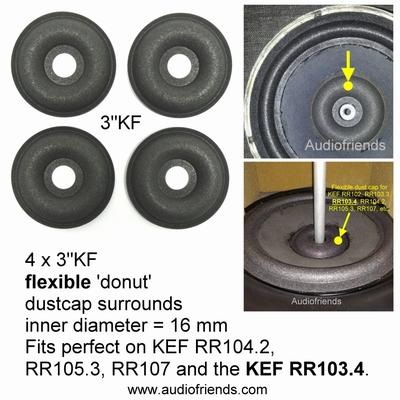 1 x Donut foam for repair KEF 103/3 B200 SP1217 speaker