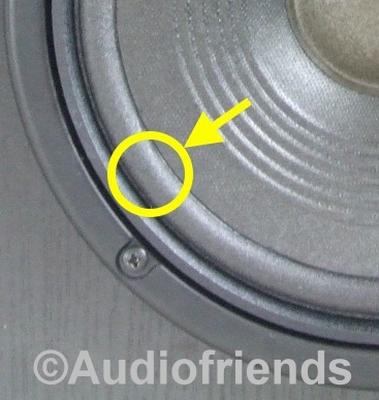 1 x Foamrand voor reparatie JBL MR38 speaker