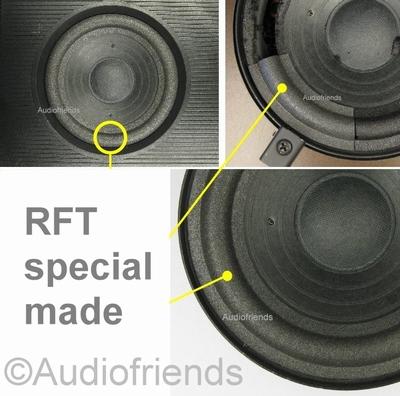 RFT 7114 - 1 x Schaumstoff Sicke für Lautsprecher Reparatur
