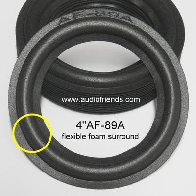 1 x Foamrand voor reparatie Visonik 302s luidspreker