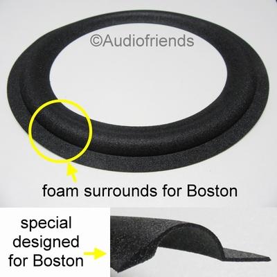 1 x Foamrand speciaal voor reparatie Boston 10 inch speaker