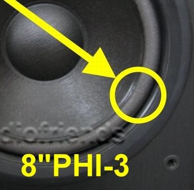 Reparatieset foamranden woofers Philips FB825