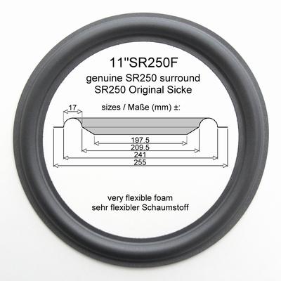 1 x GENUINE foam surround for (genuine) Dynaudio MSP 400