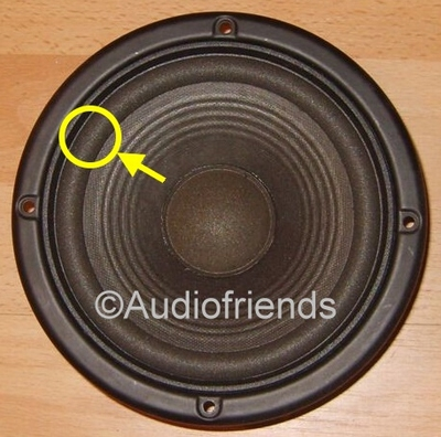1 x Foam surround for repair JBL TLX-5000 woofer