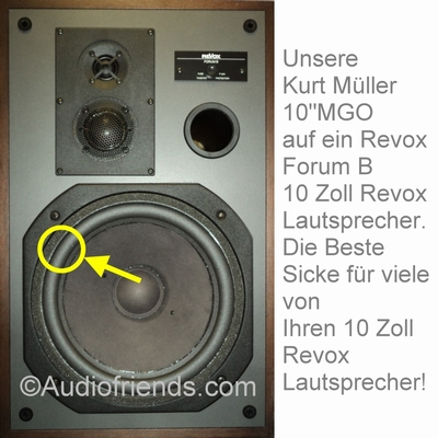 1 x Foam surround for repair Revox Forum B mk 2 woofer