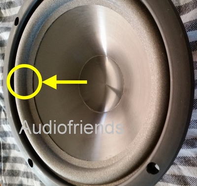 1 x Foam surround for Infinity Reference 4 - woofer