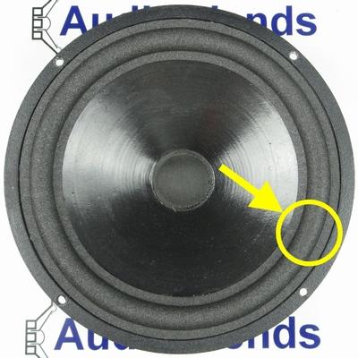 1 x Schaumstoff Sicke für Vifa M21WG Tieftöner Reparatur