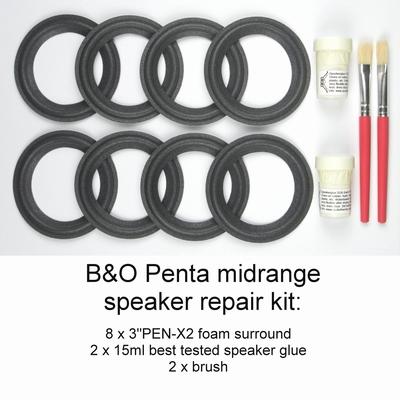 B&O Bang & Olufsen Penta - Reparaturset SCHAUMSTOFF Sicken