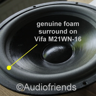 VIFA M21WN - 1 x Genuine foam surround repair - Kurt Müller