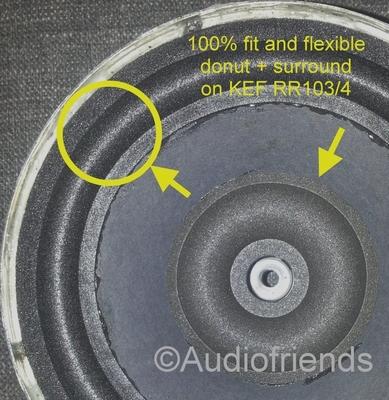 Repairkit KEF RR103.4 - B160 - SP1275 - NO glue/ brush