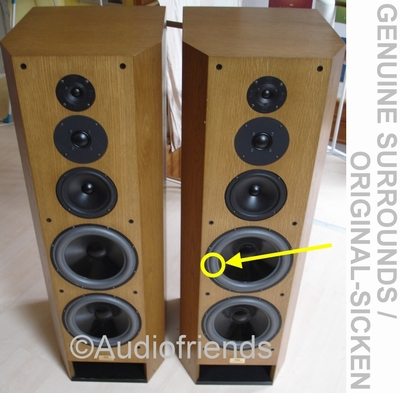 T+A TMR 160 Lautsprecher reparatie ORIGINELE foamrand
