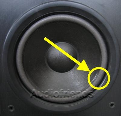 1 x Foam surround for Philips FB815, FB825 repair