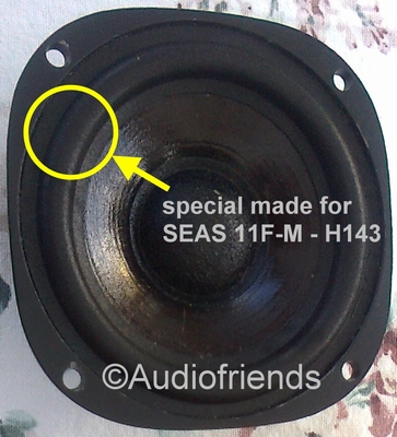 4 inch FOAM surround for Seas 11F-M H143 repair