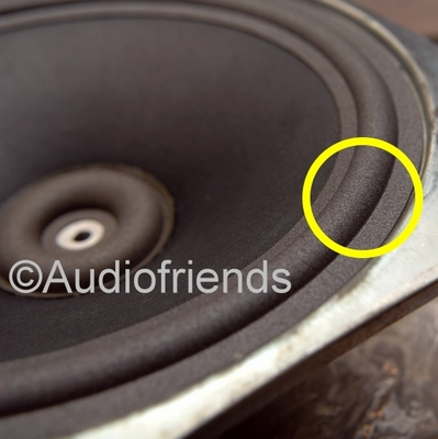 10 inch FOAM surround for speaker repair KEF RR107/RR107.2
