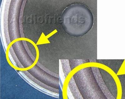 10 Zoll SCHAUMSTOFF Sicke für Reparatur Lautsprecher