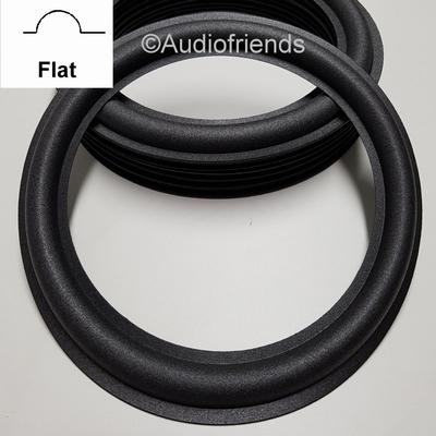 10 inch FOAM surround FLAT inner lip for repair JL-Audio